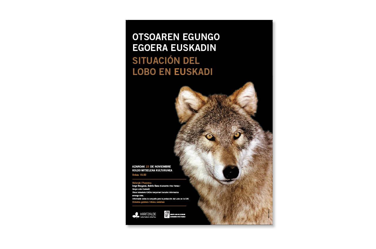 Otsoaren egungo egoera Euskadin