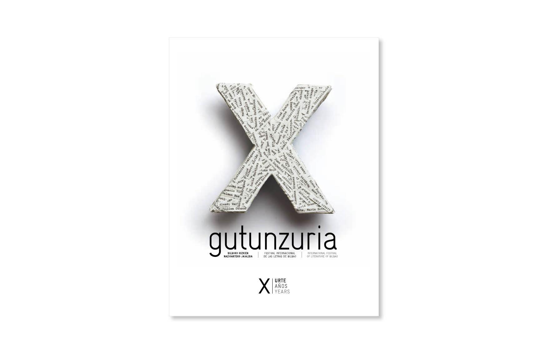 GUTUN ZURIA X. urteurrena