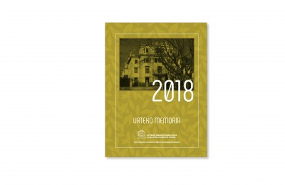 Gipuzkoako Sendagileen Elkargoaren urteko memoria 2018